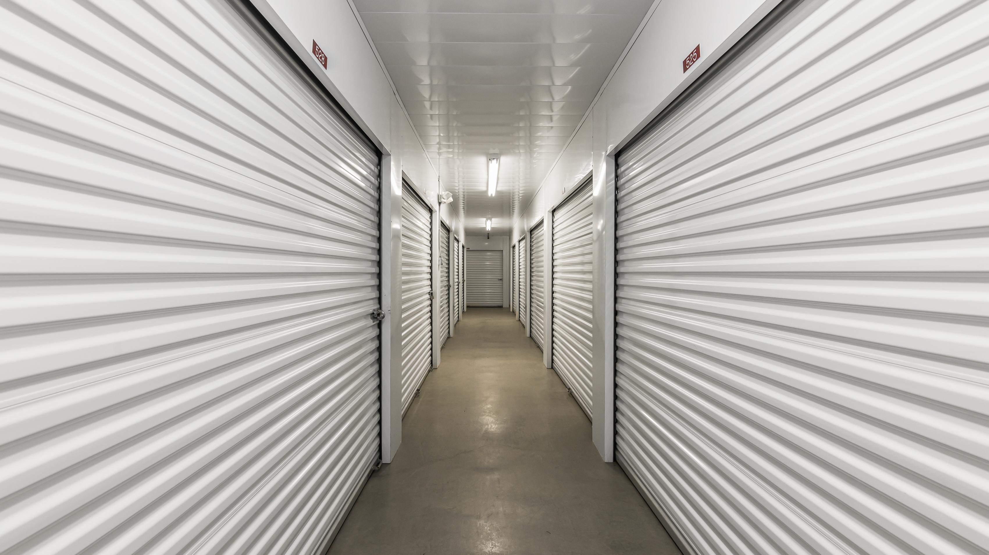 interior access climate control storage units