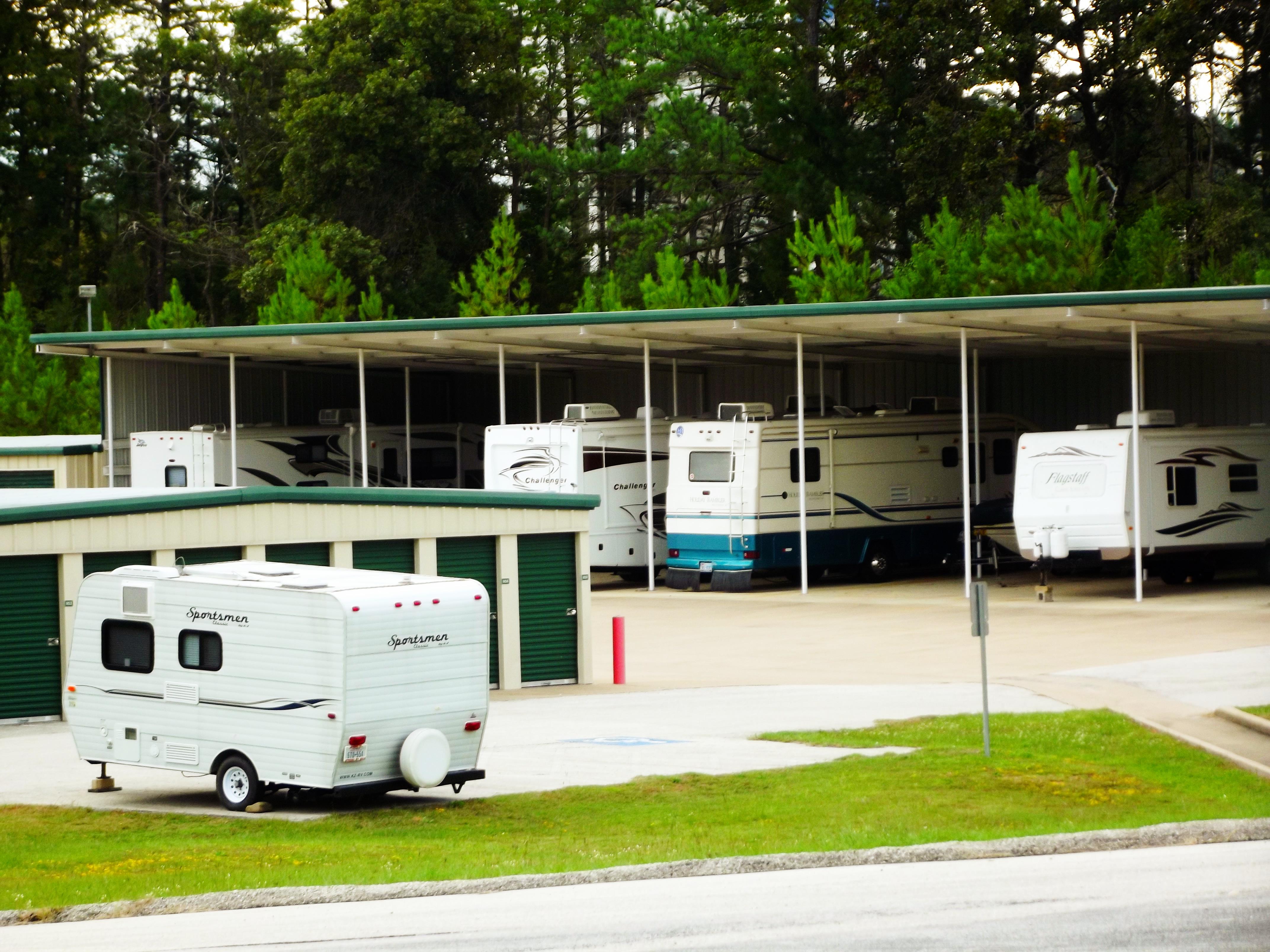Boat & RV storage at Calloway Road Storage Center