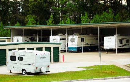 RV parking at Calloway Road Storage