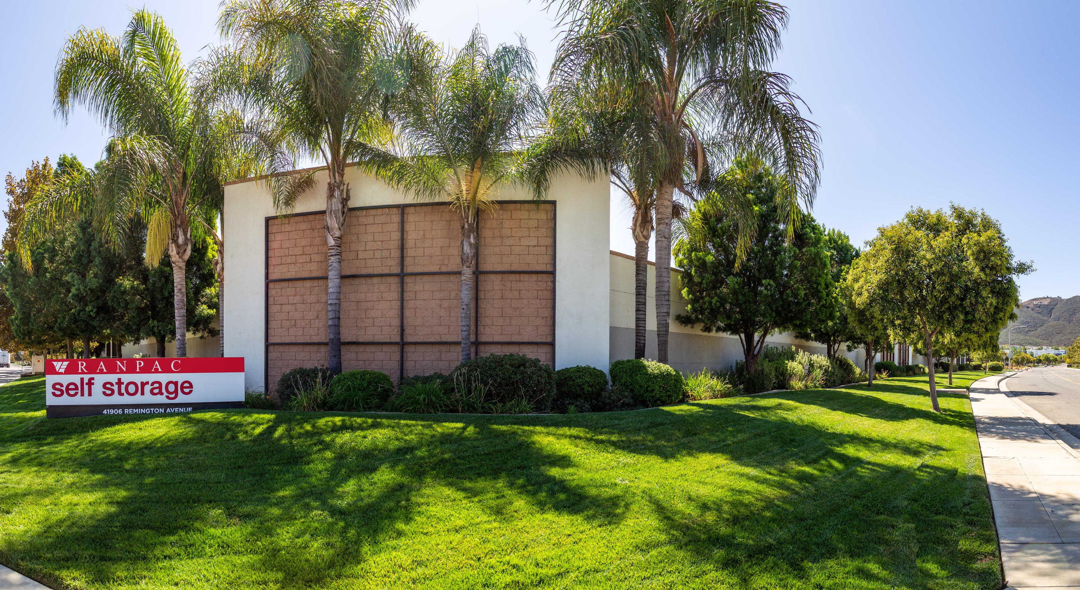 Ranpac Self Storage Remington Ave. Temecula CA