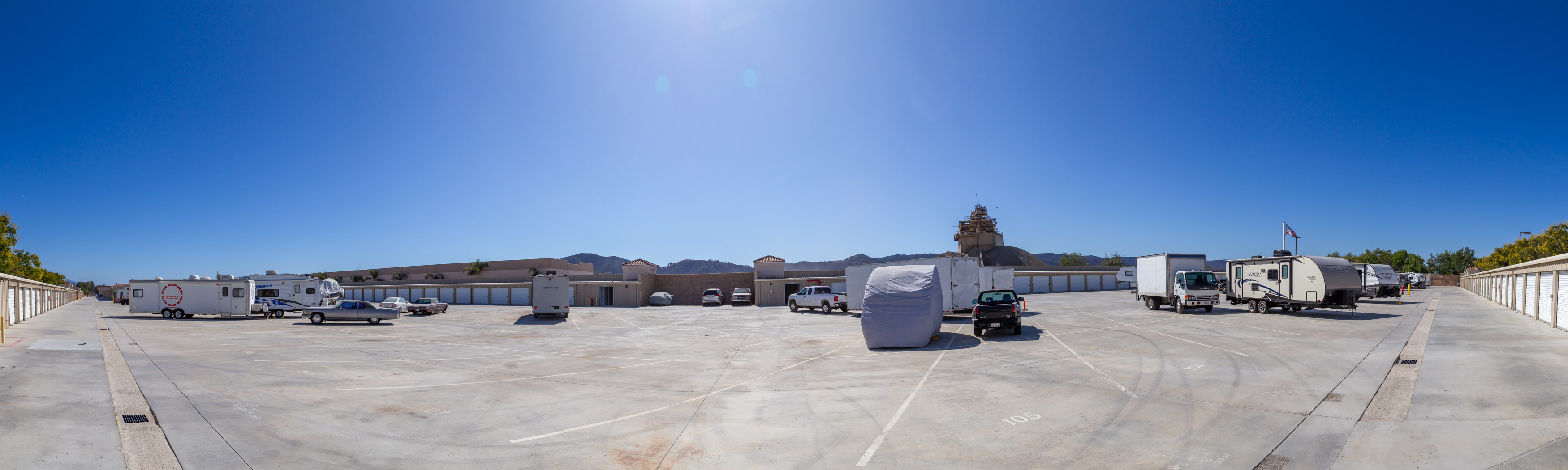 Ranpac Self Storage Elm St. Murrieta CA
