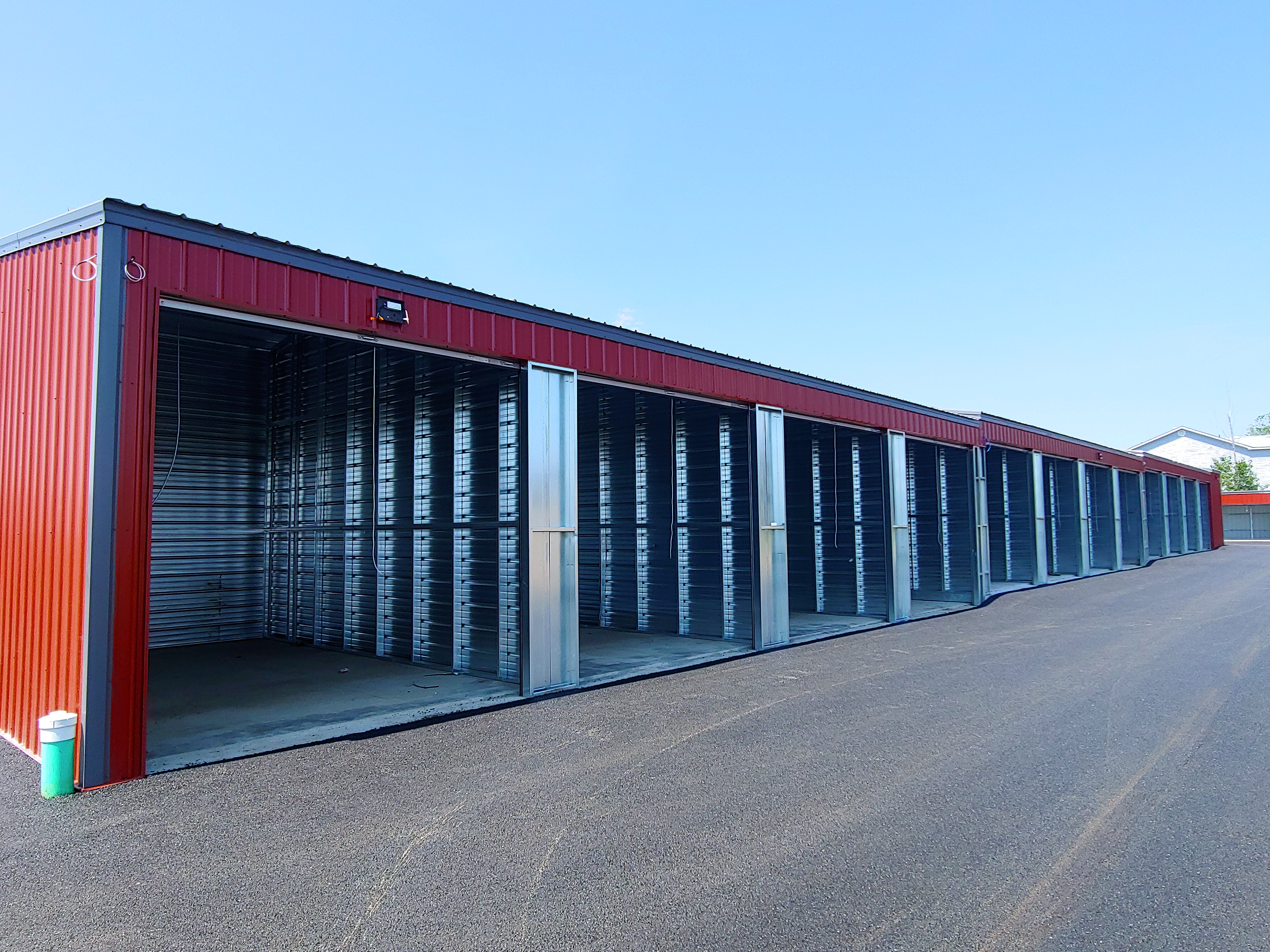 Open Units for Self Storage