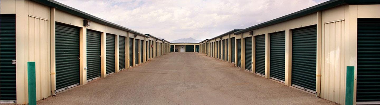 Row of El Paso Storage Units