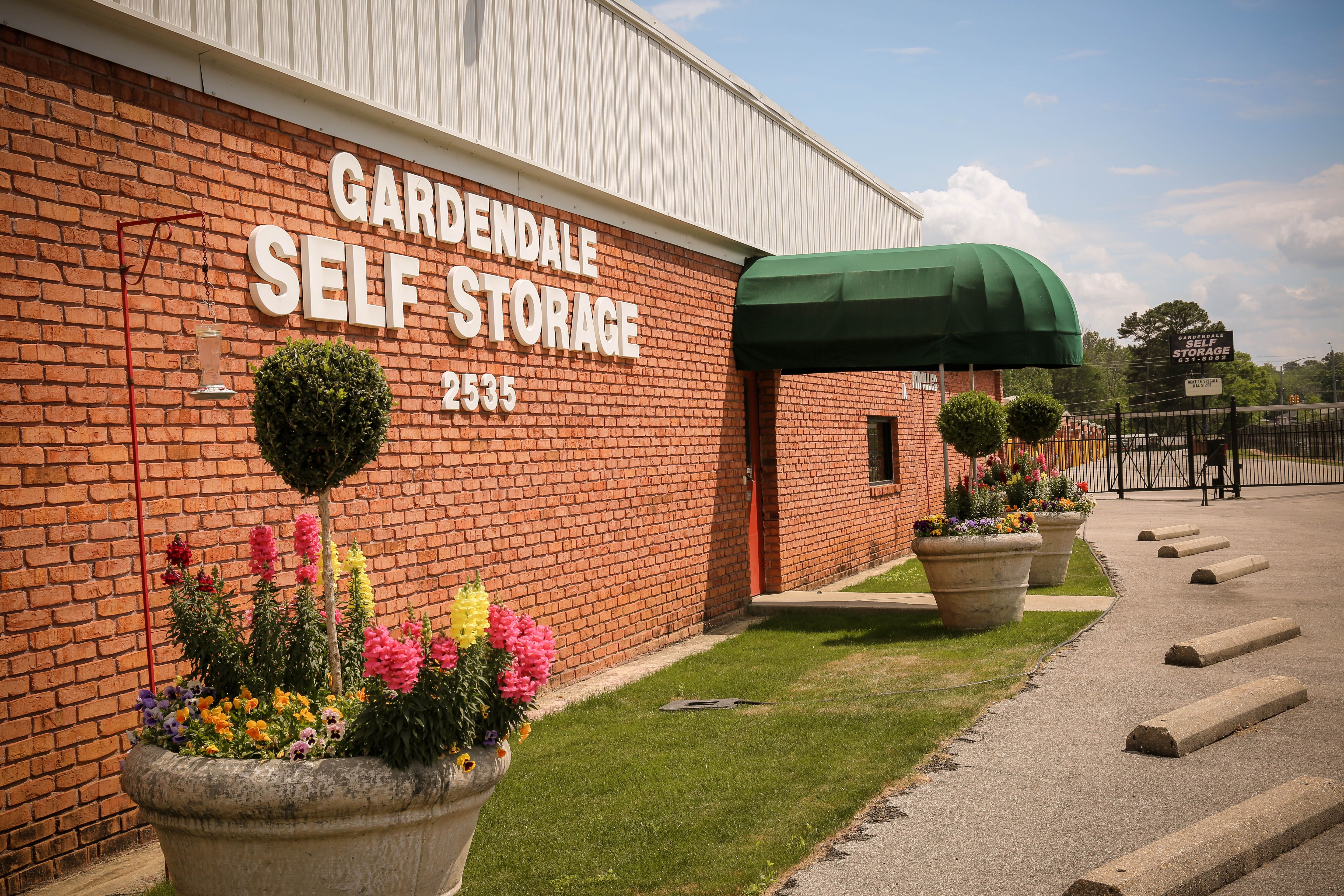 Gardendale Self Storage Alabama