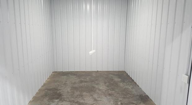 First Choice Storage Unit interior