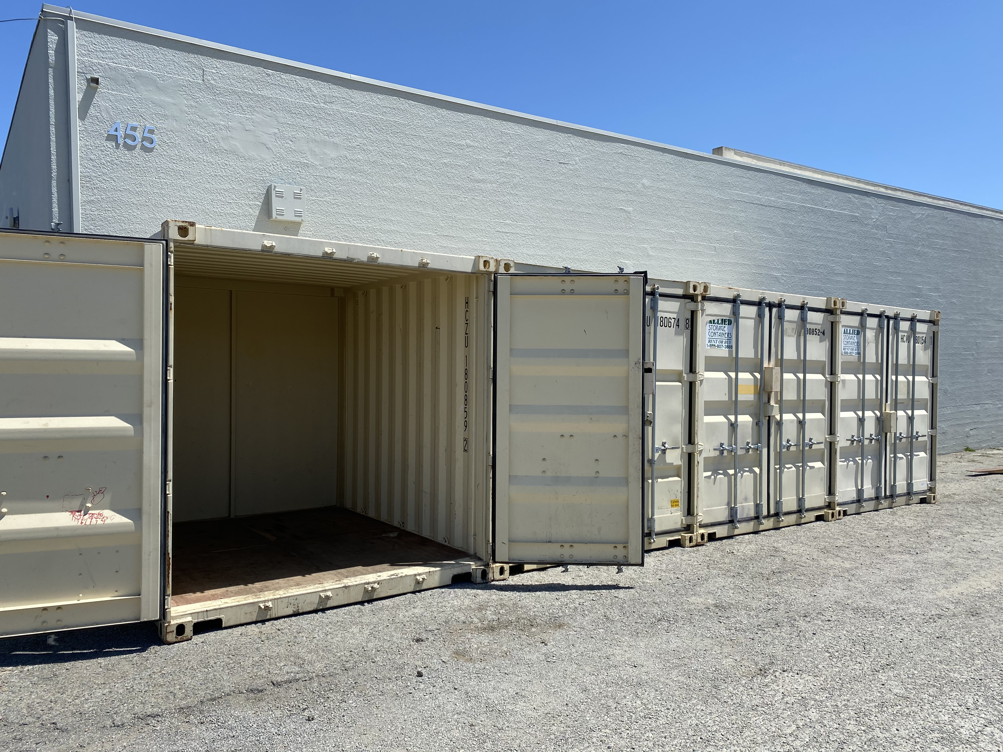 container 24 access storage
