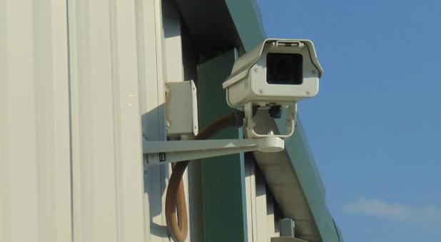 Security camera at Ample Storage