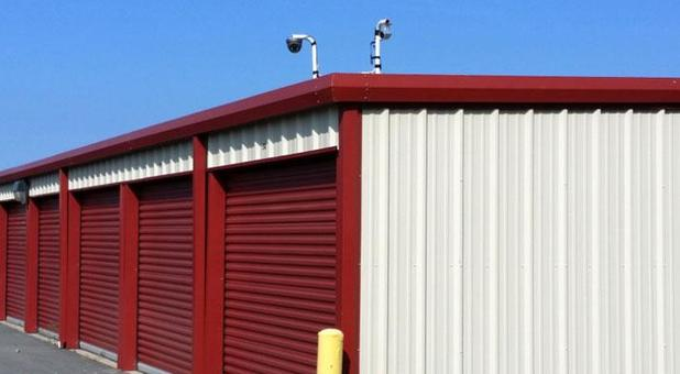 Rows of self storage units in Cabot, AR
