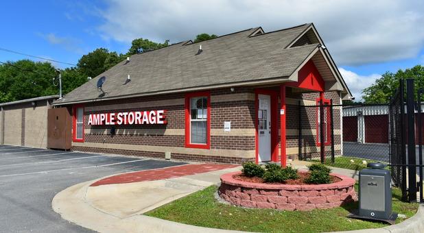 Ample Self Storage - Benton office building