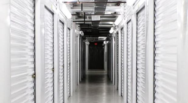Indoor self storage units at Sherwood Self Storage