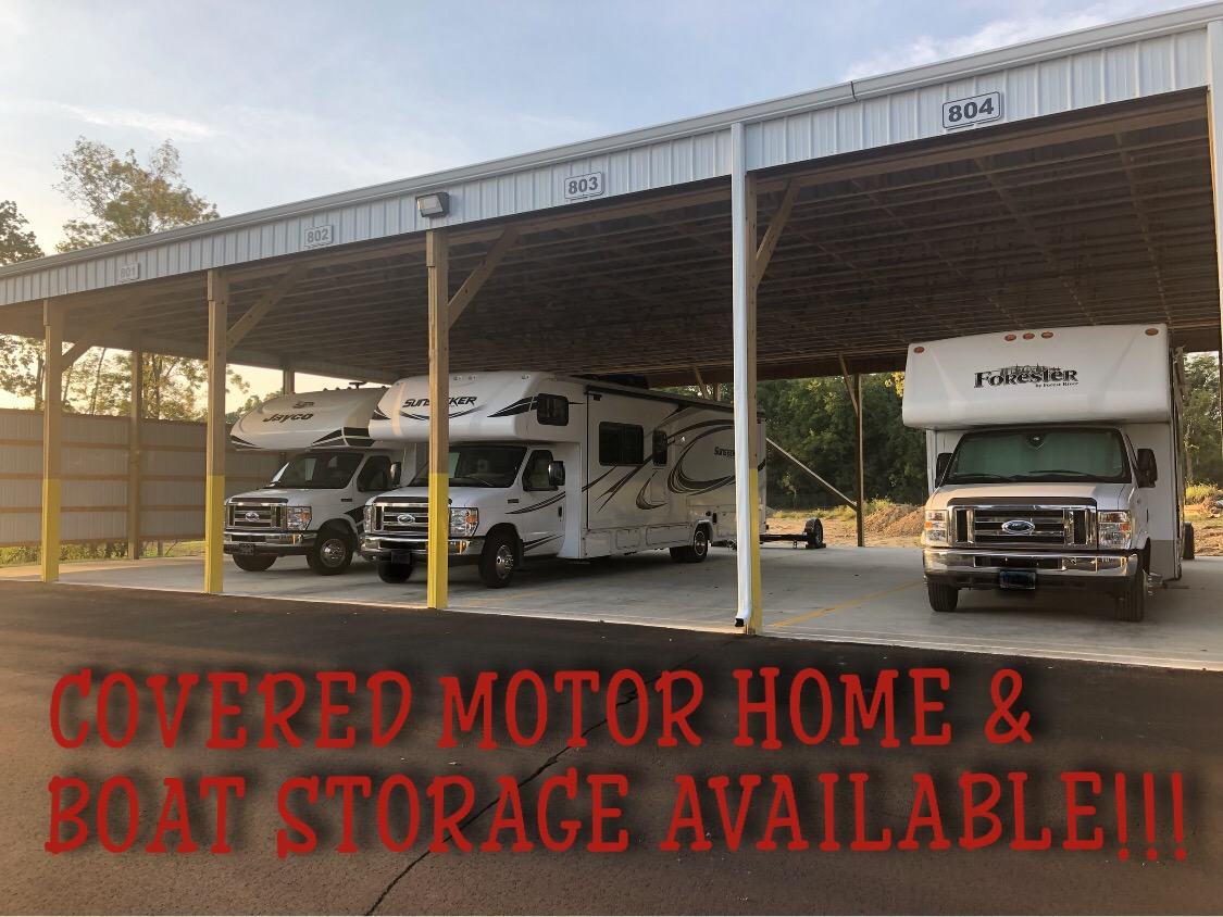 COVERED MOTOR HOME STORAGE IN HAMILTON OHIO