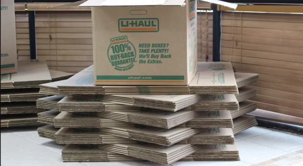 Available storage boxes at Store It All