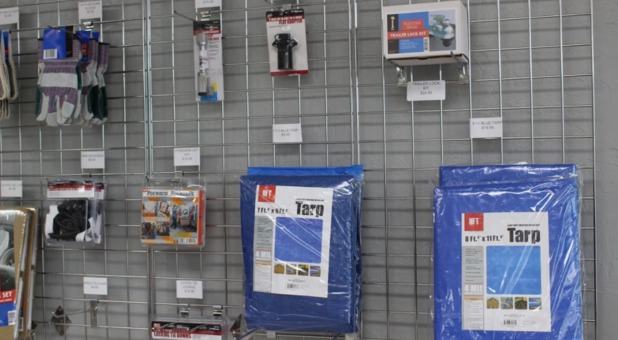 Available self storage supplies in Oklahoma City, OK