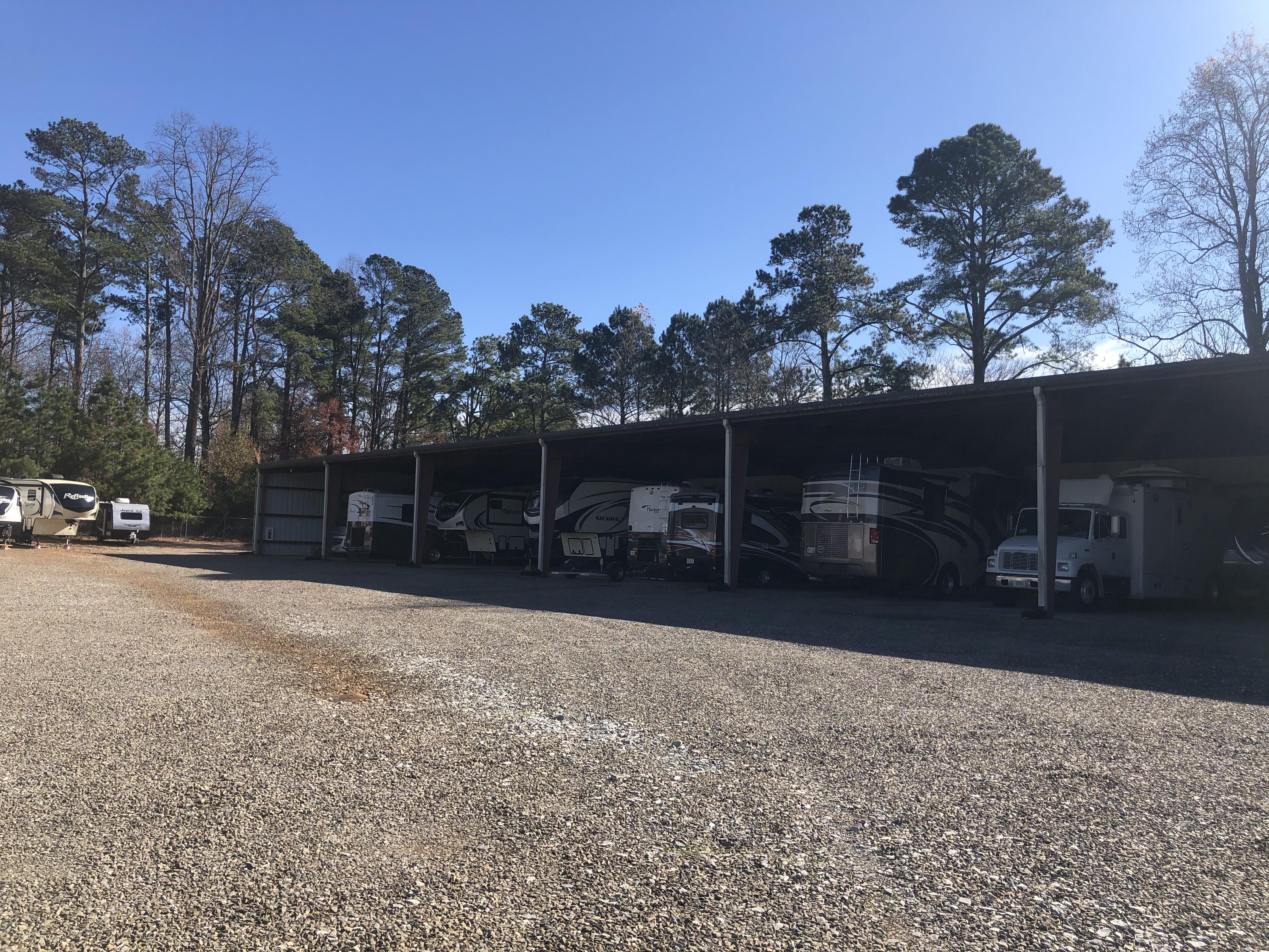 Covered RV Parking Jasper, GA