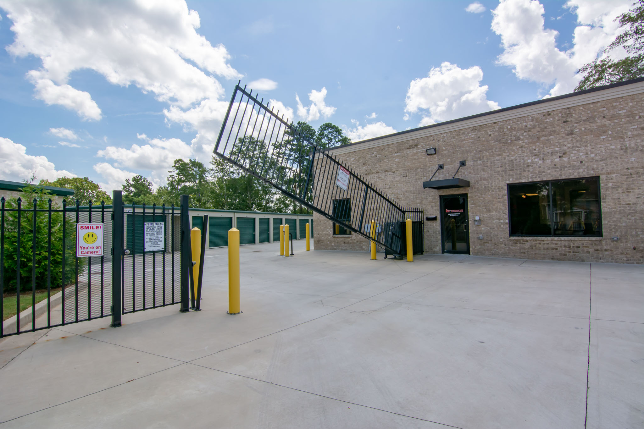 View of Key Storage gate in operation