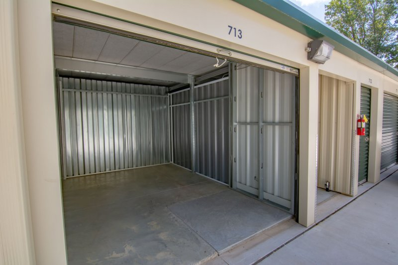 view of Key Storage clean dry drive-up storage units