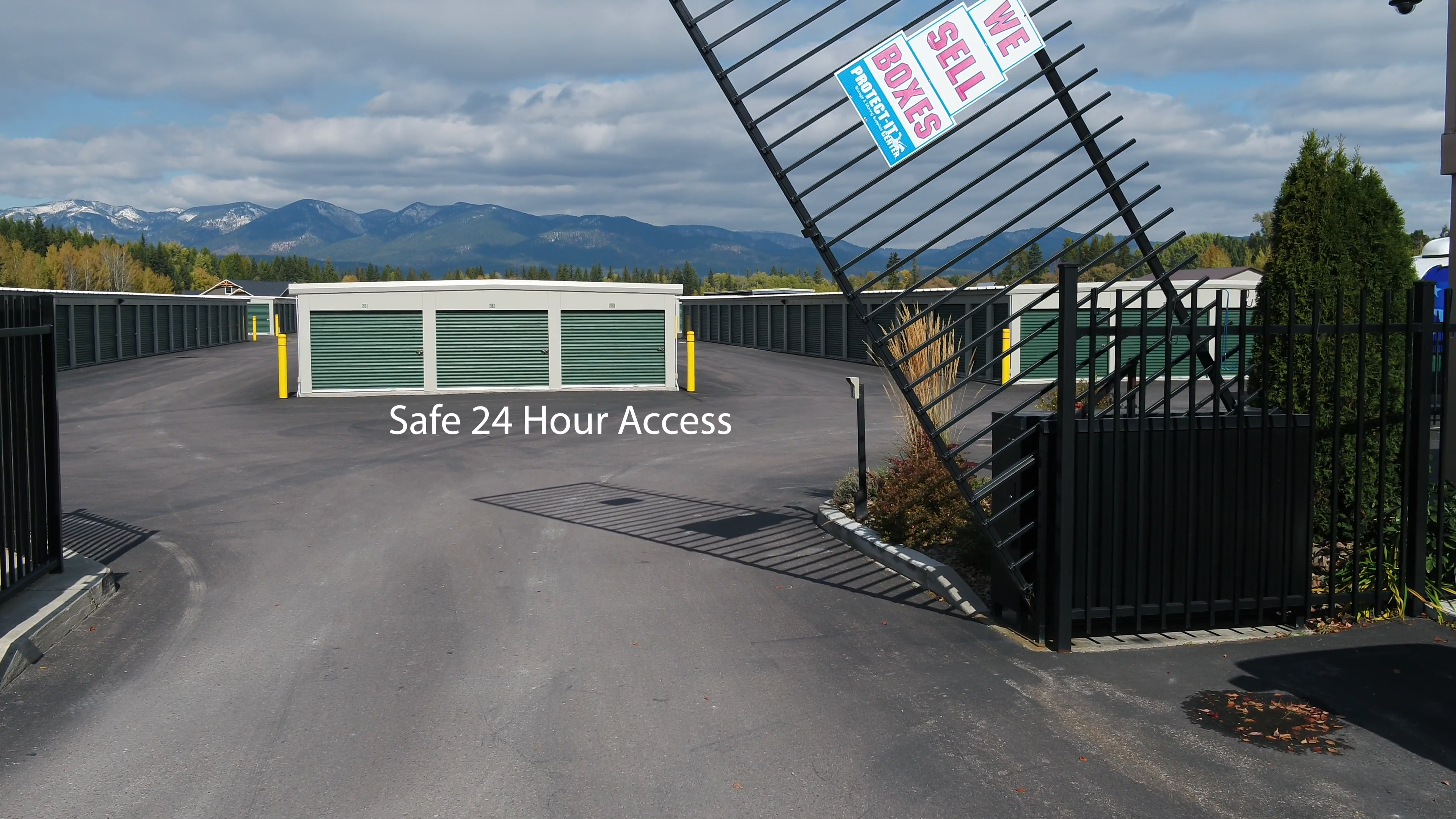 fenced and gated storage in columbia falls, mt
