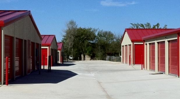 Rows storage units at Bella Storage