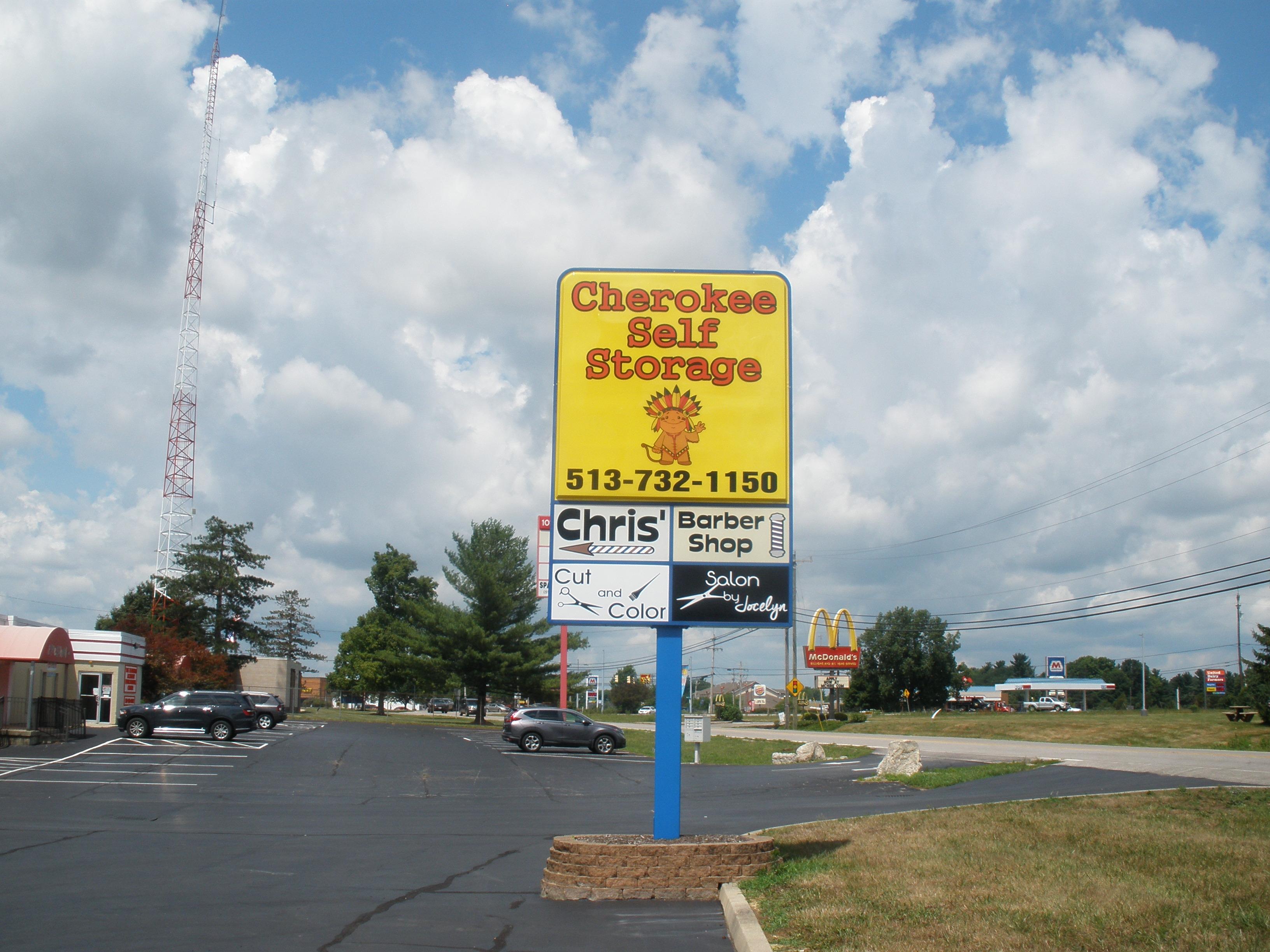 self storage signage batavia