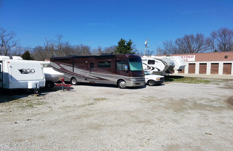 rv boat parking