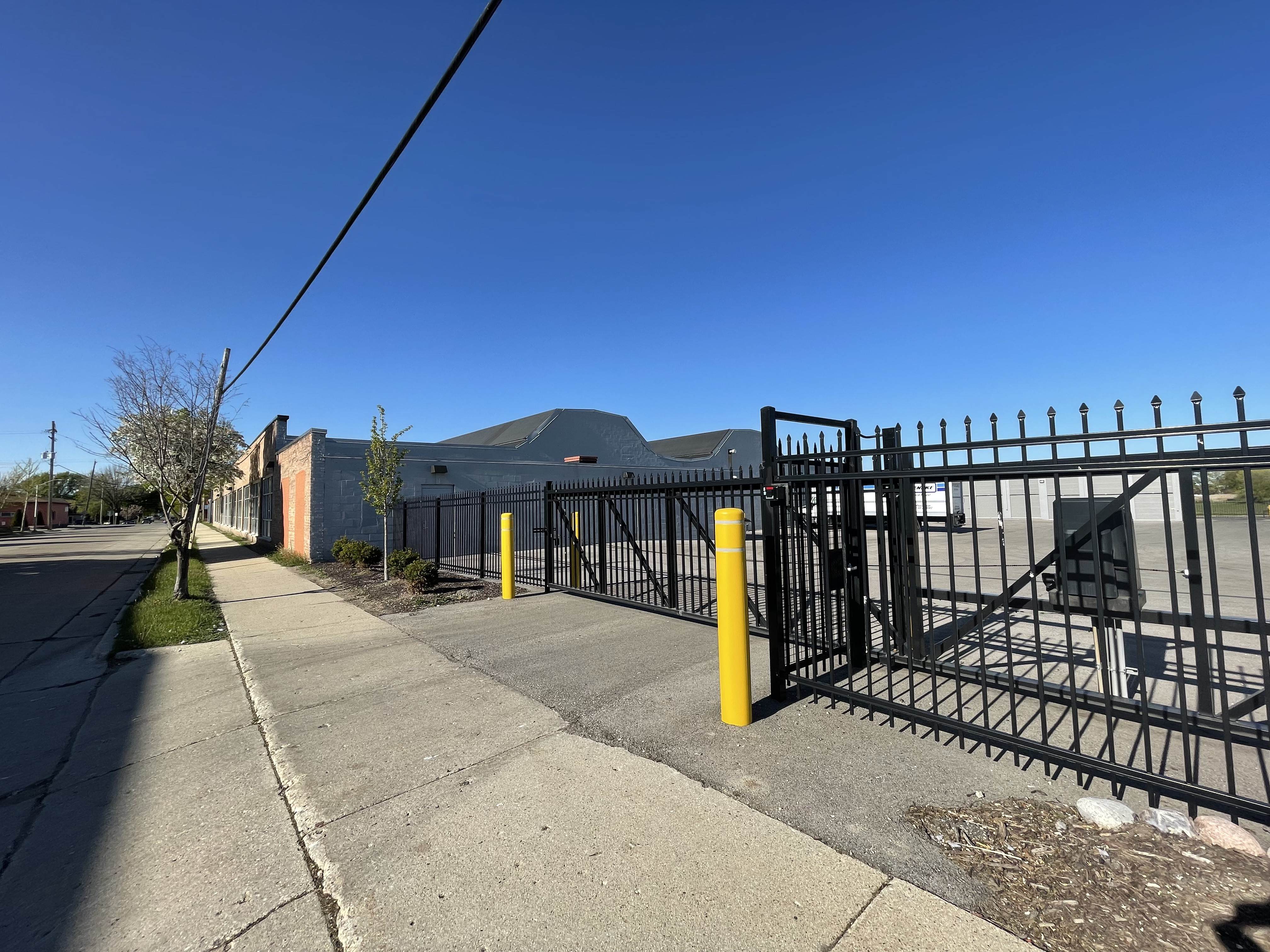 Fenced and gated storage facility in West Allis, WI