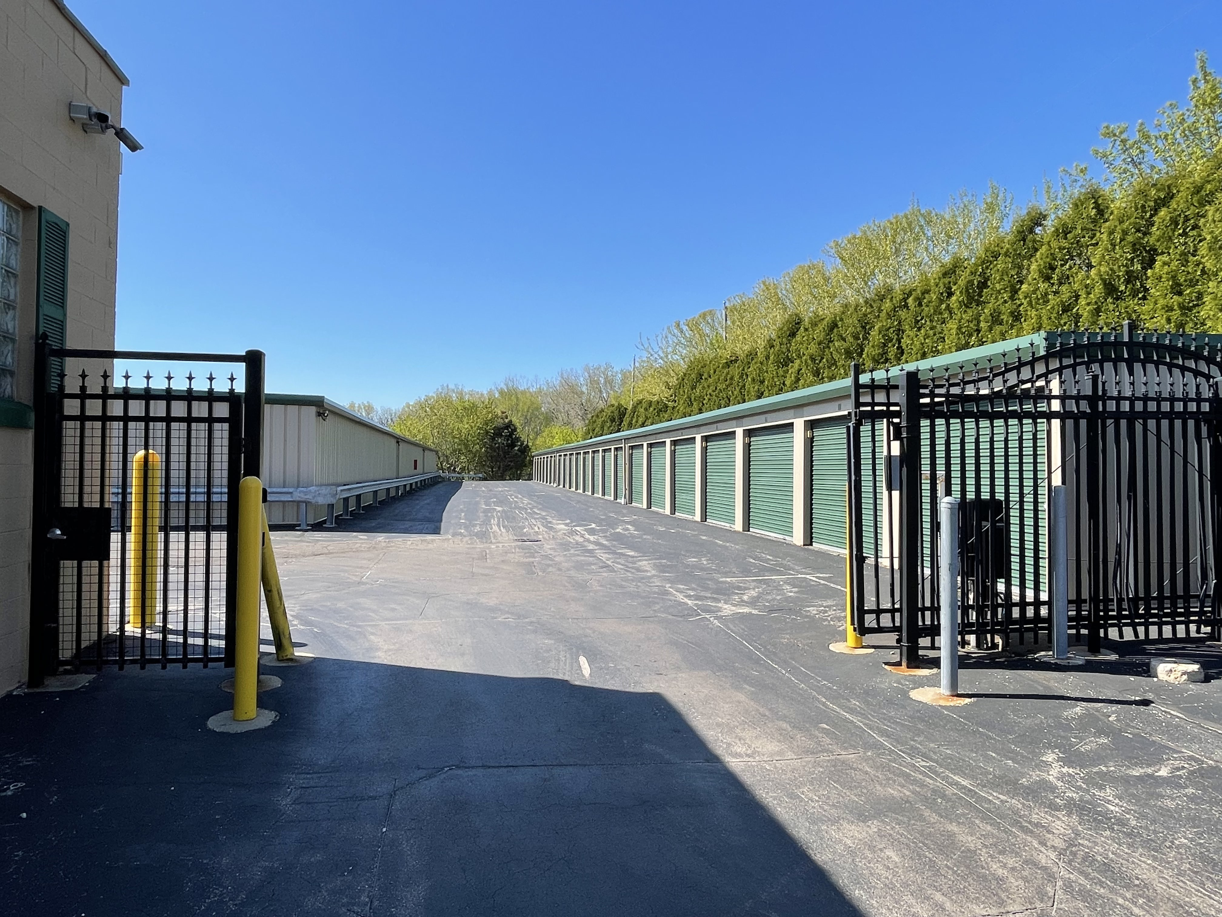 Inside climate controlled storage in Milwaukee, WI