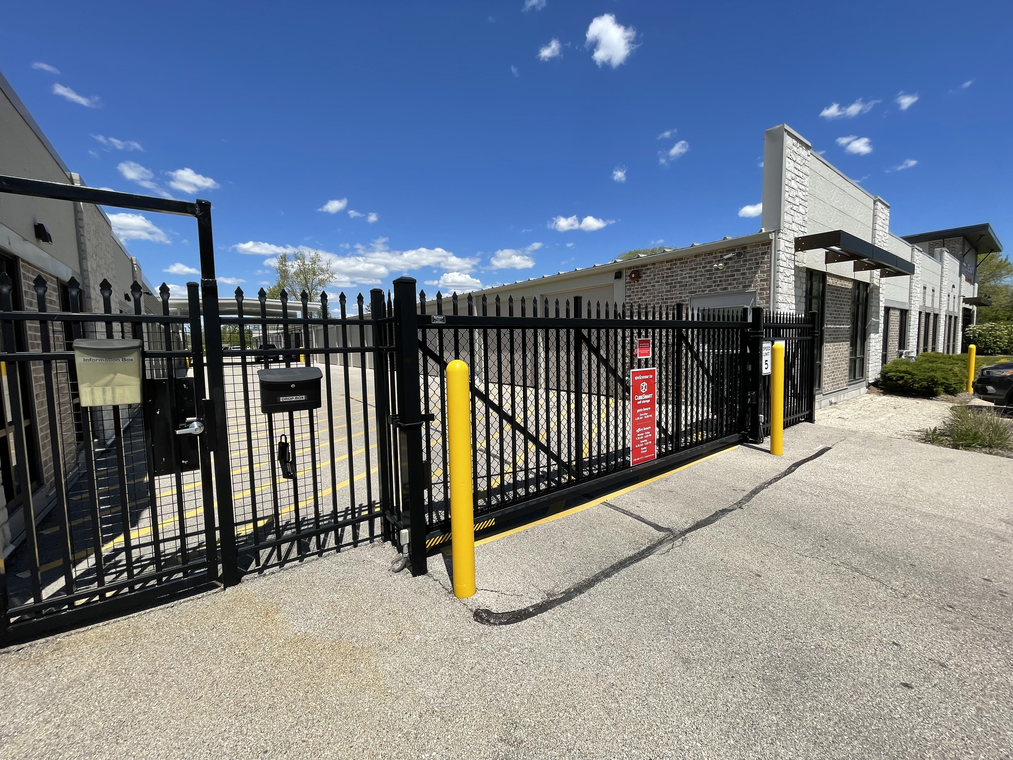 Inside climate controlled storage units in Waukesha, WI