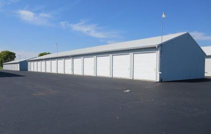 Line of Storage Units in Fond du Lac, WI