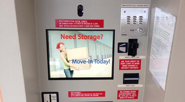 Self Storage Kiosk in Hartland, WI