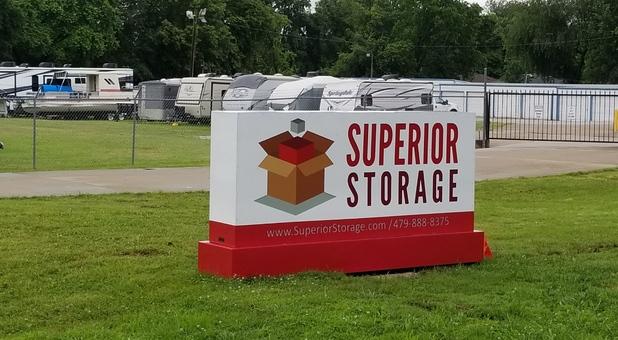 Superior Storage Signage Springdale, AR