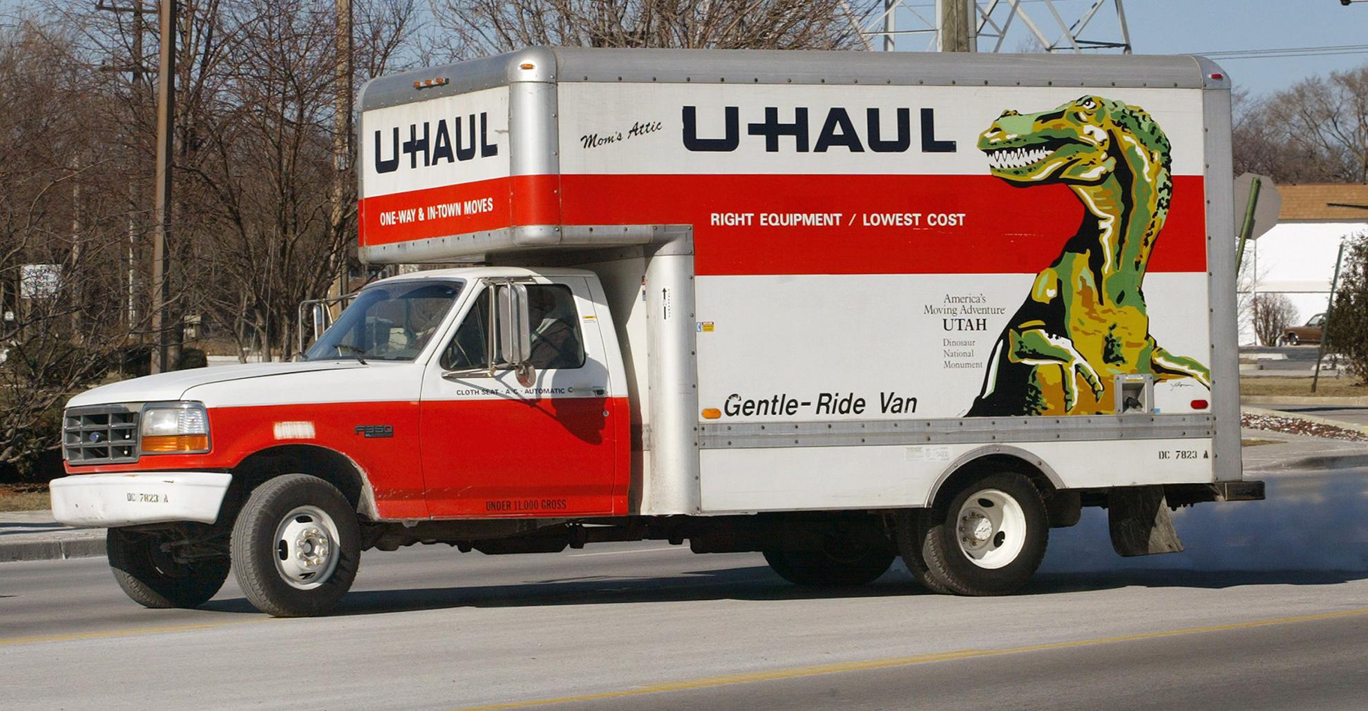 Uhaul Truck 1
