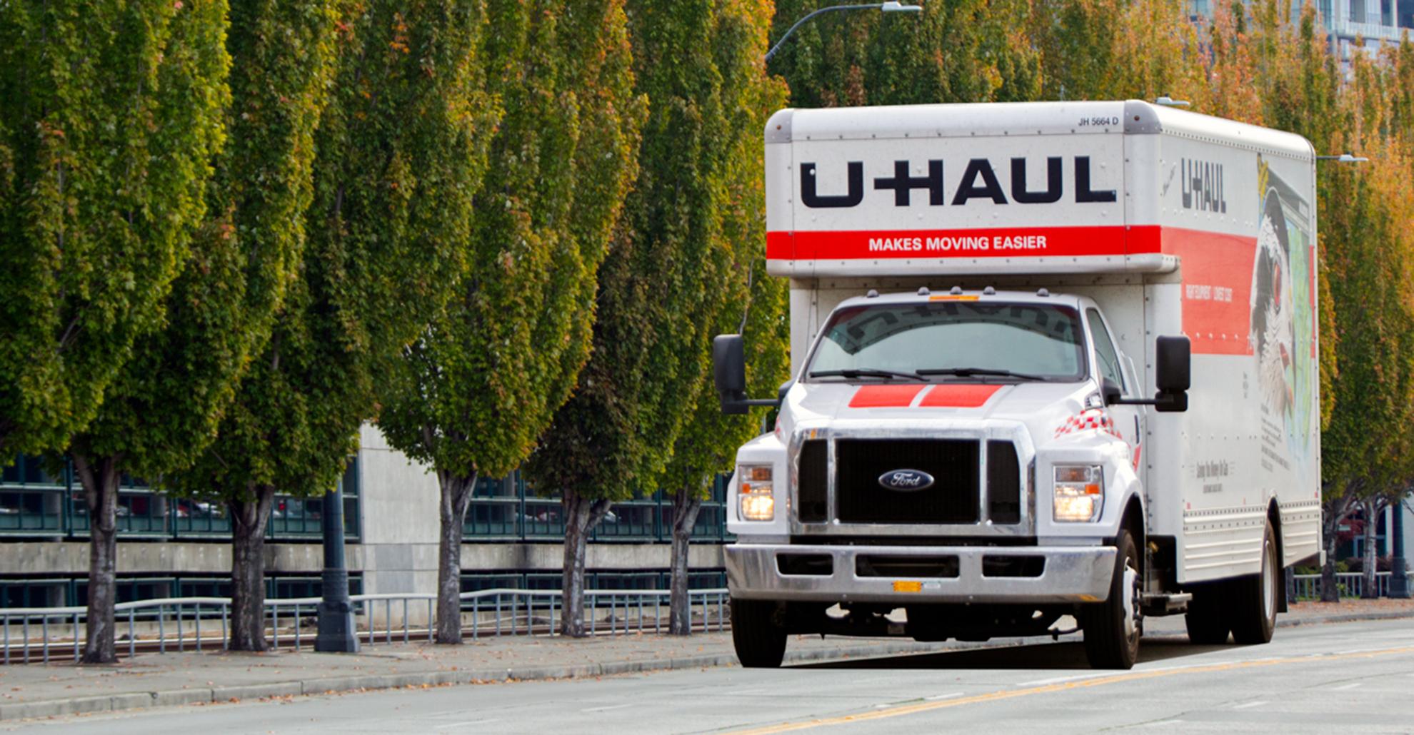 Uhaul Truck 2
