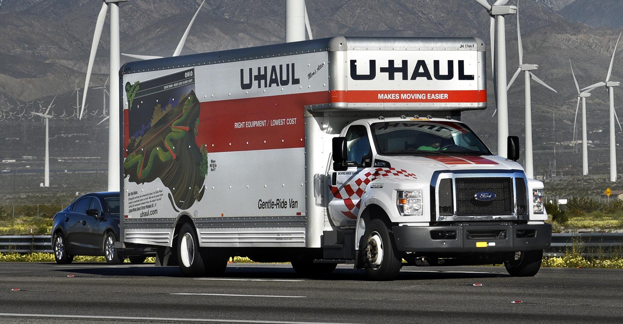 Uhaul Truck 4
