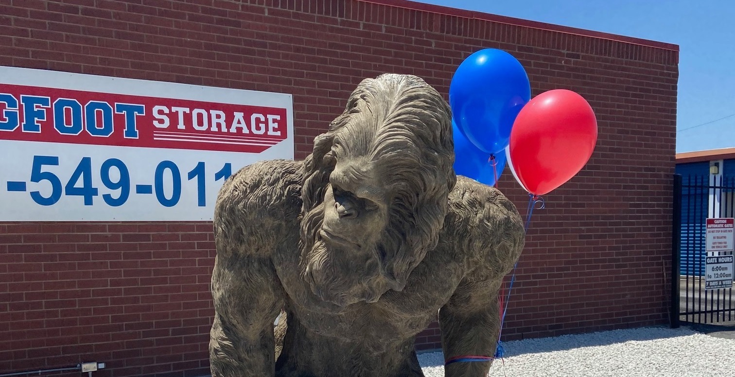 Bigfoot Storage Bypass location