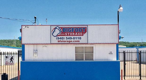 Bigfoot storage N. Ohio office