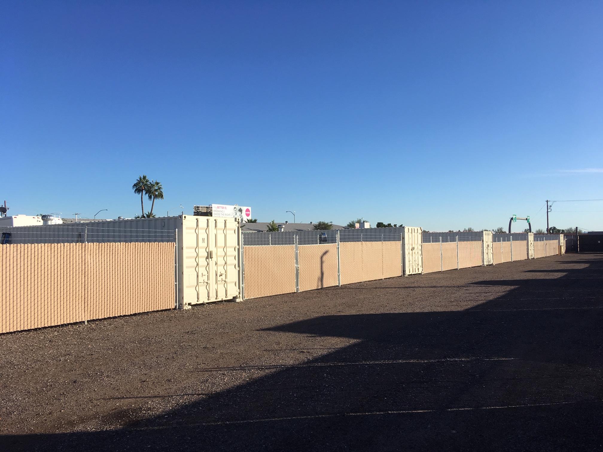 Mesa Yard Storage
