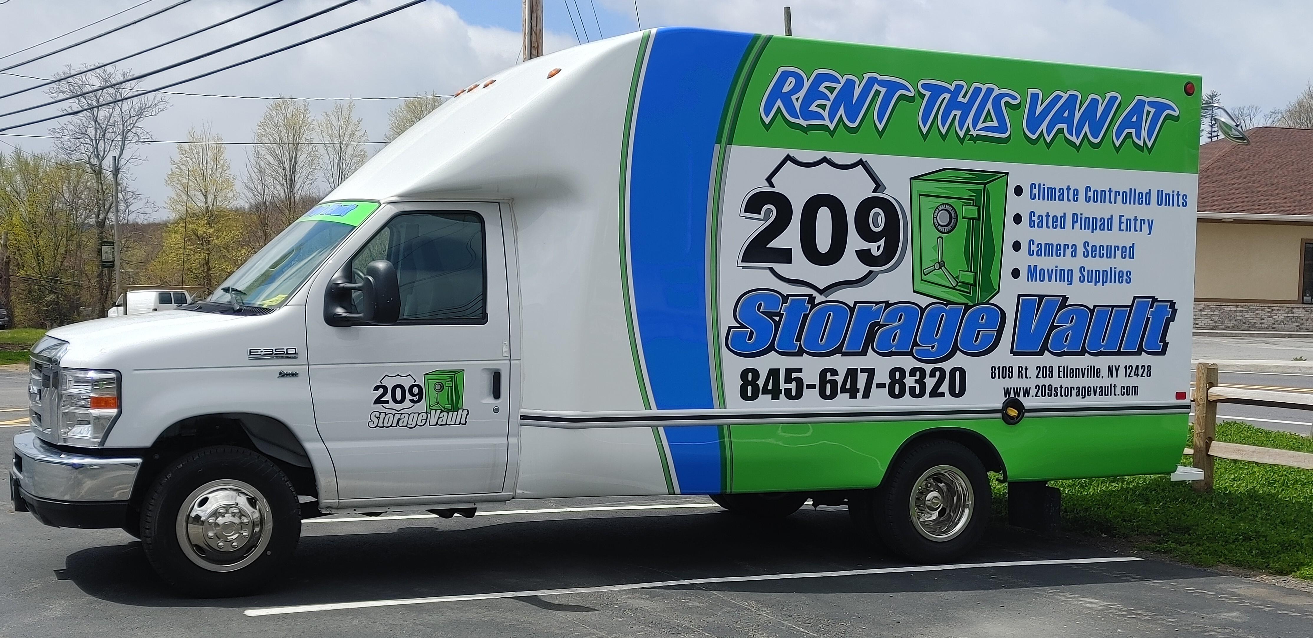 Our new rental van
