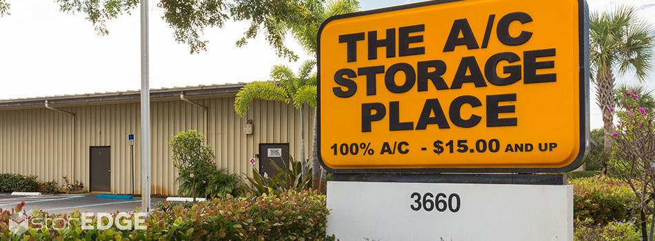 The AC Storage Place in  Boynton Beach, FL