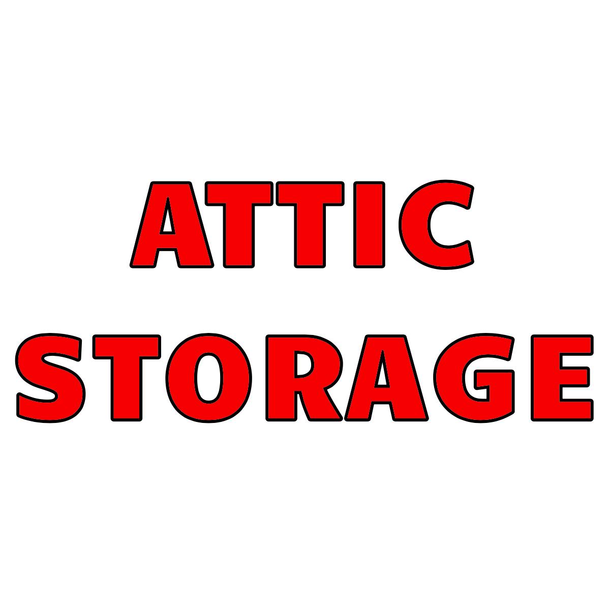 Attic Storage #4