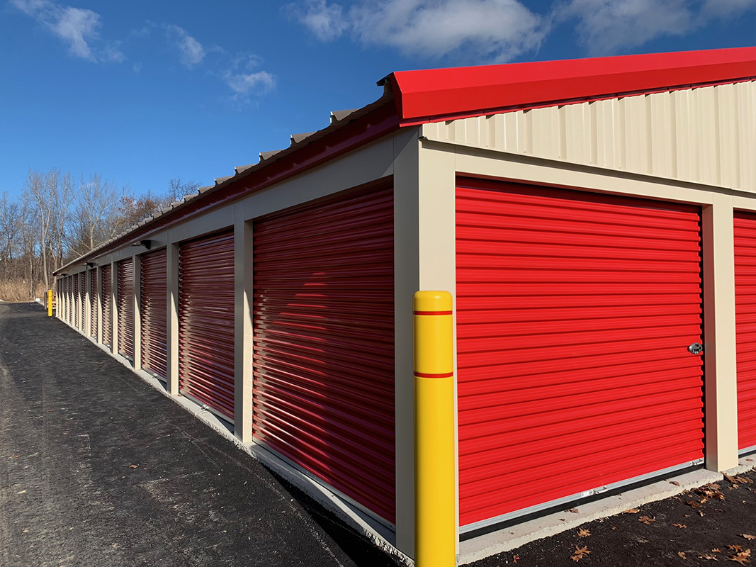 Outside Self Storage Units - Clifton Park NY