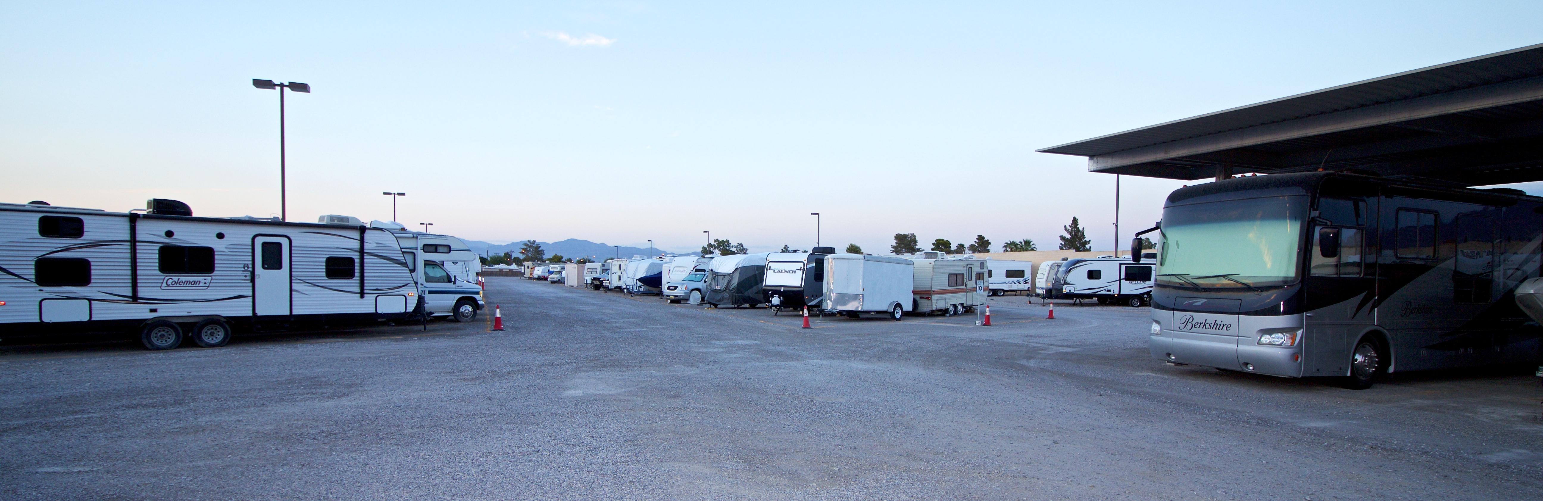 Maximum RV Storage - Lake Mead