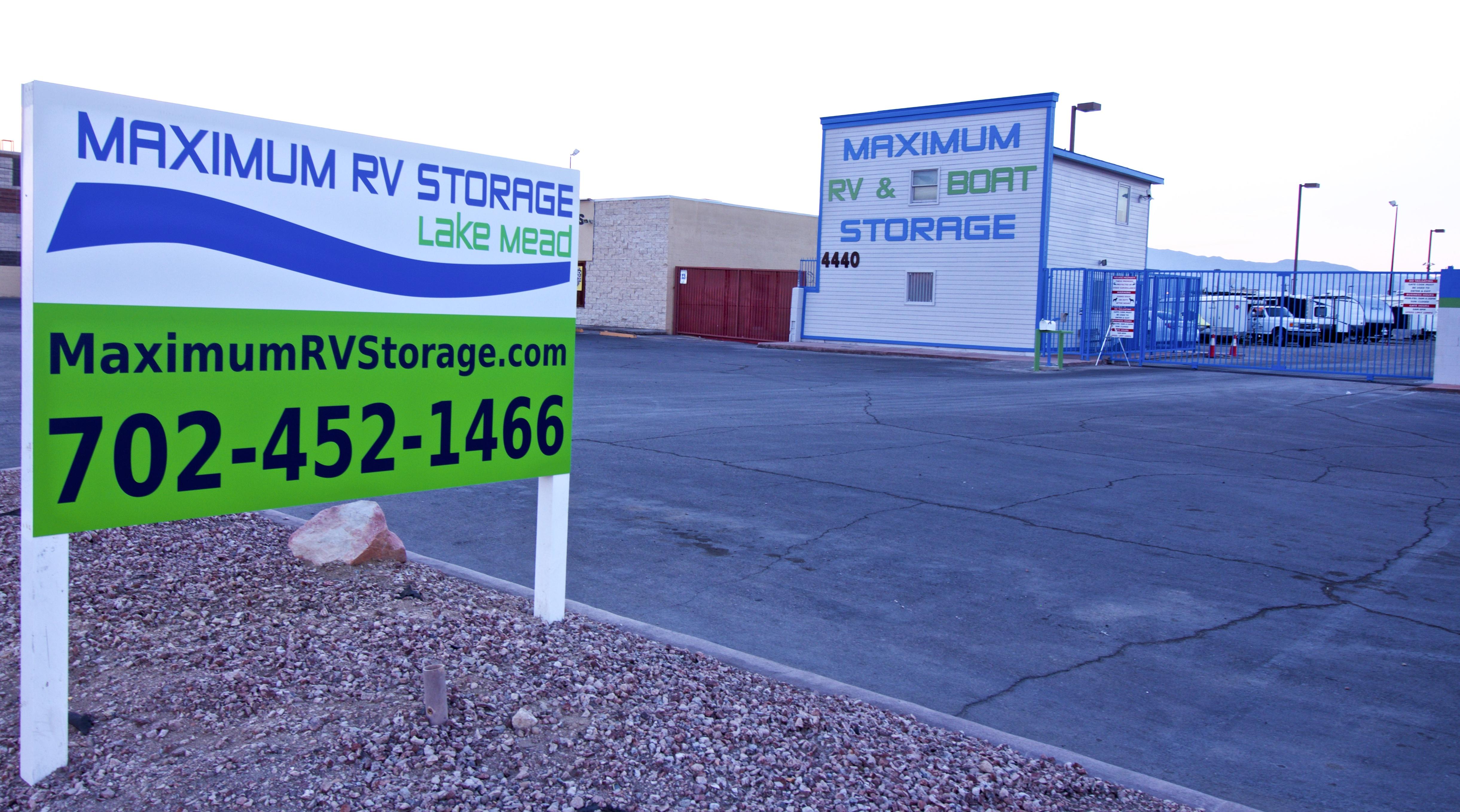 Maximum RV Storage Office