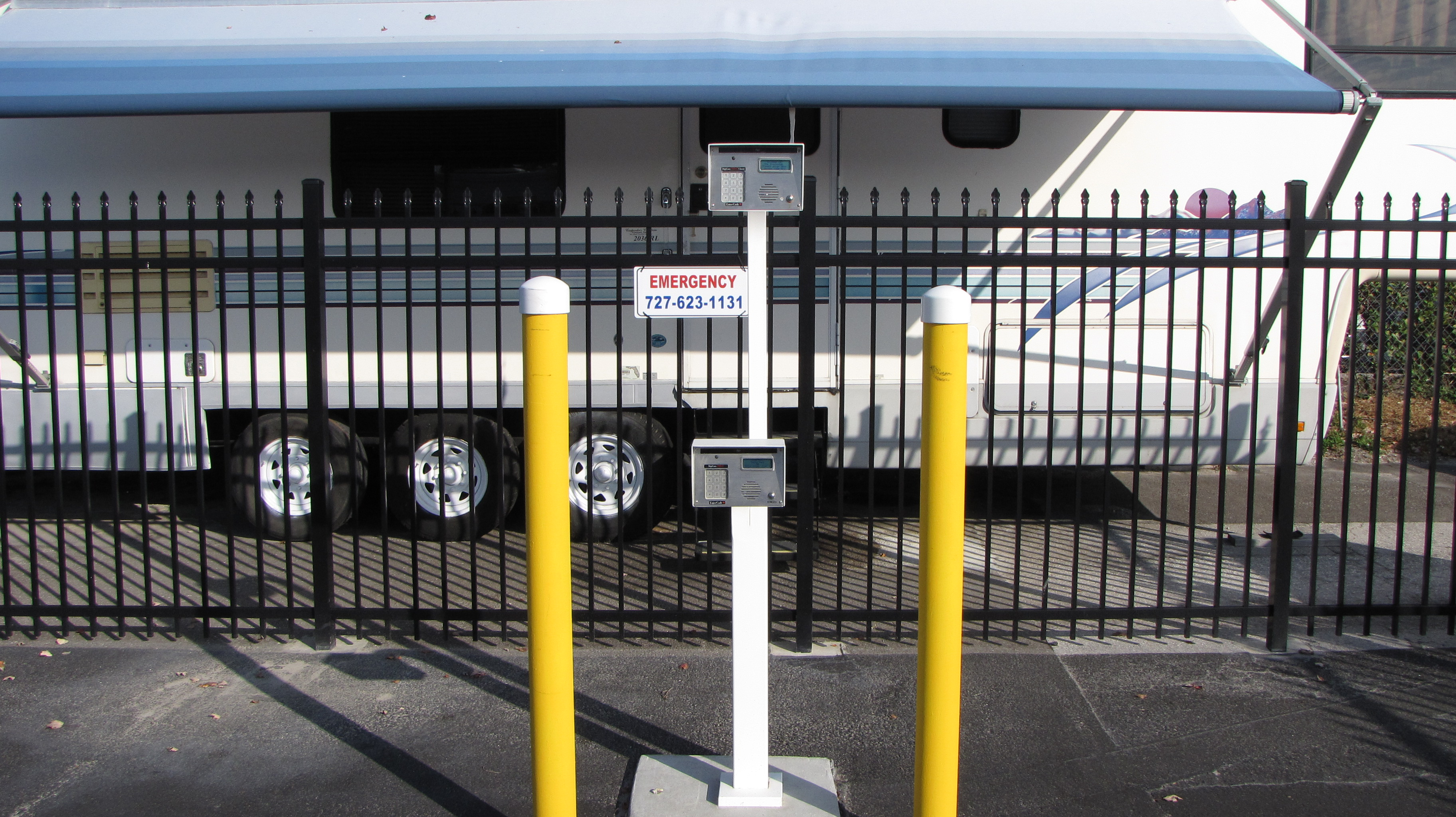 Secure RV Parking Pinellas Park, FL