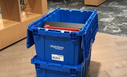 Valet Bin Storage