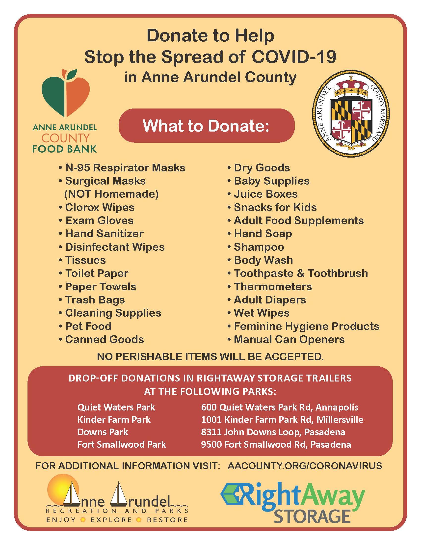 Donation Drive Details