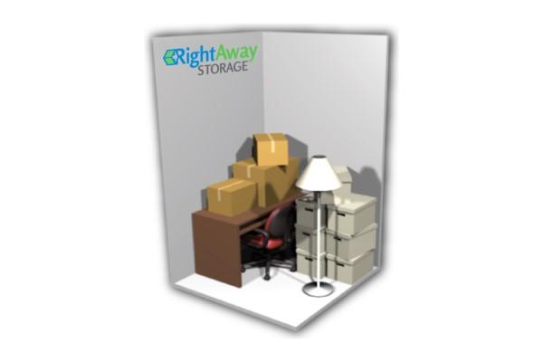 5 x 5 Storage Plan