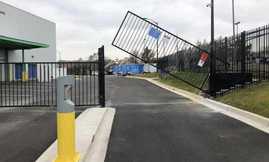 Secured Gate Access