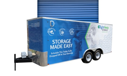 Storage with Pickup Service