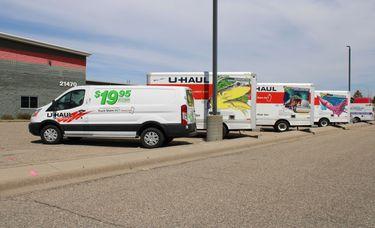 Airlake Storage U-Haul Truck Rentals At Facility