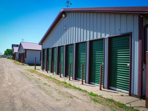 Highway 8 Self Storage outdoor storage units with drive up access